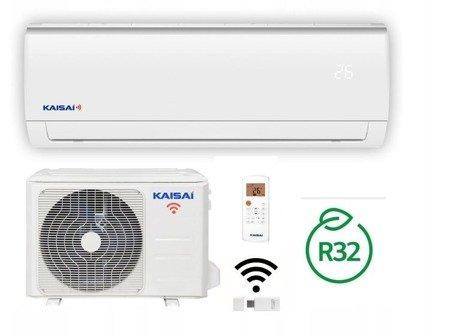 KAISAI FLY - Klimatyzator ścienny inverter split z modułem WiFi w komplecie 5,0 kW