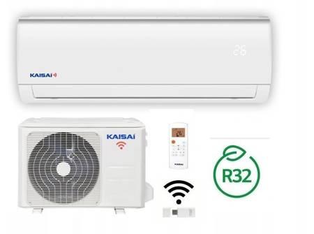 KAISAI - Klimatyzator ścienny inverter split z modułem WiFi w komplecie 2,5 kW