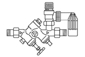VAILLANT - Grupa bezpieczeństwa do zasobników o pojemnościach od 200 do 1000 litrów