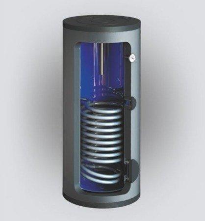 Wymiennik c.w.u. SBZ-400.TERMO-SOLAR, 400 litrów, z dwoma wężownicami i podłączeniem do zewnętrznego wymiennika ciepła