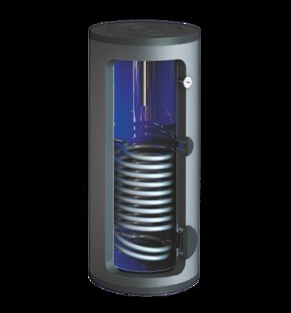 Wymiennik c.w.u. SW-1000.TERMO-MAX, 1000 litrów, stojący z wężownicą spiralną